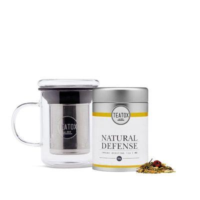 Teatox Bio Thee Natural defense green tea ginger bio