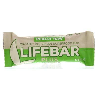 Lifefood Lifebar plus chia young barley bio