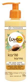 Lovea Karite karma body lotion