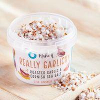 Cornish Sea Salt Zeezout really garlicky