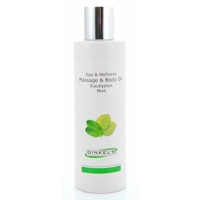 Ginkel's Massage & body oil eucalyptus & mint
