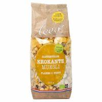 Leev Bio krokante muesli fruit glutenvrij