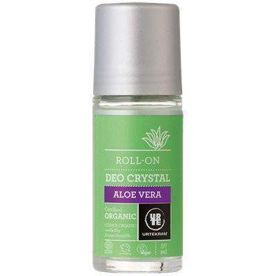 Urtekram Deodorant crystal roll on aloe vera