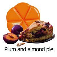 Creations Geurchips plum and almond pie