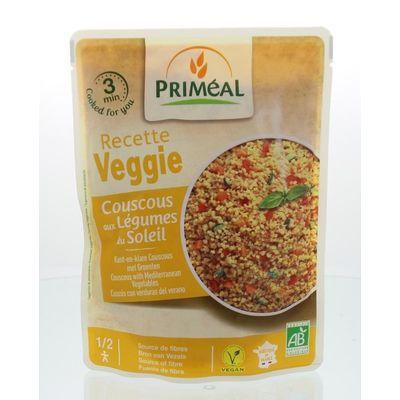 Primeal Recette Veggie Couscous met groente