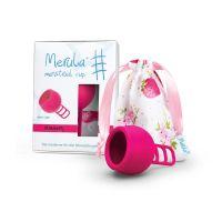 Merula Menstruatie cup strawberry roze