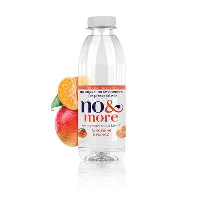 No & More No&More fruitwater mandarijn & mango