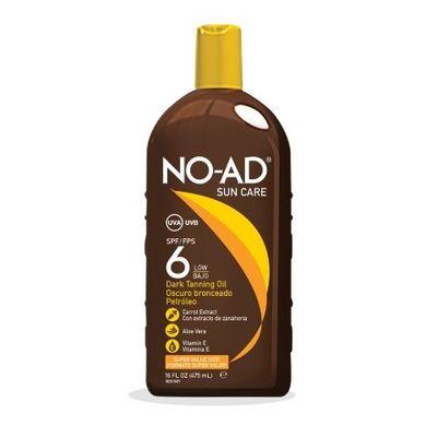 Noad Dark tanning oil SPF6