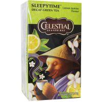 Celestial Season Sleepytime decaf green tea lemon jasmine