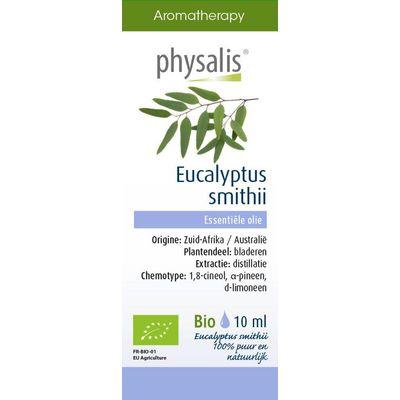 Physalis Eucalyptus smithii bio