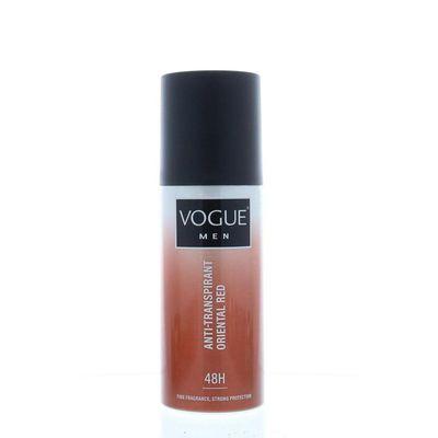 Vogue Men oriental red anti transpirant spray