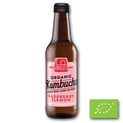 Lo Bros Kombucha raspberry & lemon