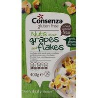 Consenza Cornflakes met druif en noot