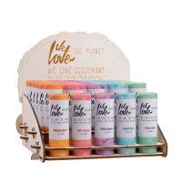 We Love Display 100% Natural deodorant sticks