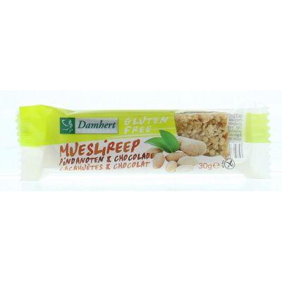 Damhert Mueslireep choco noten glutenvrij