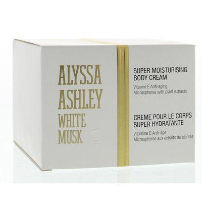 Alyssa Ashley White musk body cream
