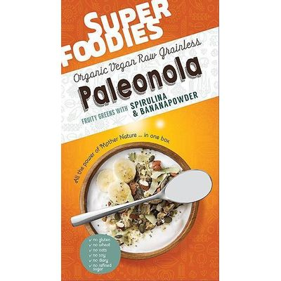 Superfoodies Paleonola fruity greens