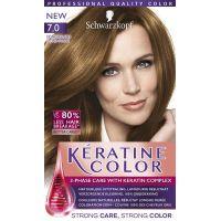 Schwarzkopf Keratine Color Haarverf 7.0 Donkerblond