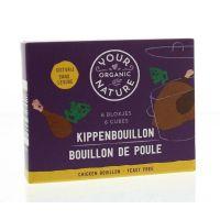 Your Organic Nat Kippenbouillonblokjes zonder gist