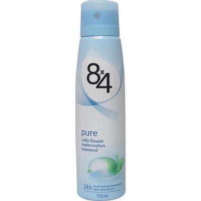 8X4 Deodorant spray pure