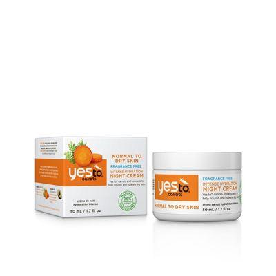 Yes To Carrots Nachtcreme moisturizing