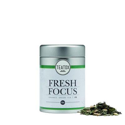 Teatox Bio Thee Fresh focus green tea ginkgo bio