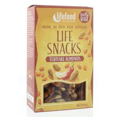 Lifefood Lifesnacks teriyaki amandelen