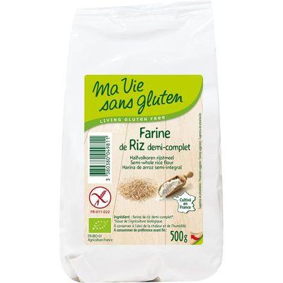 Ma Vie Sans Rijstmeel halfvolkoren bio - glutenvrij
