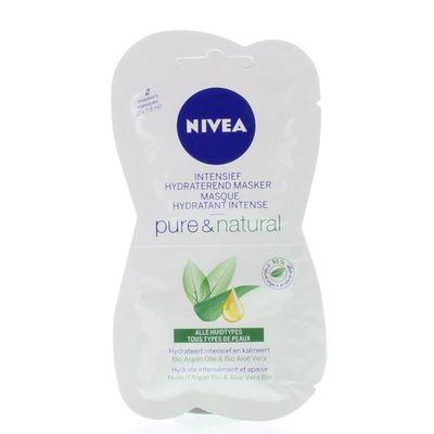 Nivea Pure & natural intensief hydraterende masker