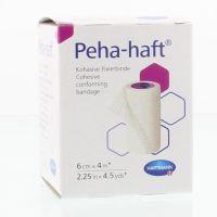 Hartmann Pehahaft elastisch windsel 4 m x 6 cm