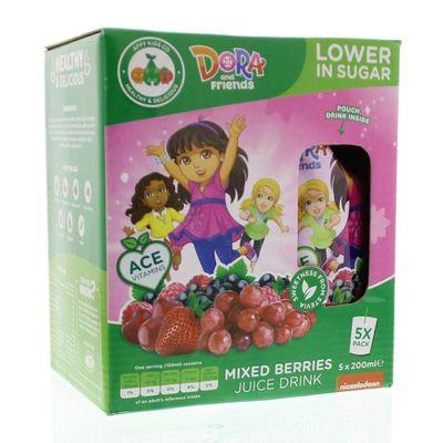 Appy Kids drink Dora mixed berries 200 ml