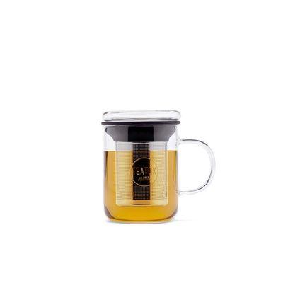 Teatox Bio Thee Glass mug & theefilter