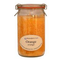 Kerzenfarm Geurkaars weckglas sinaasappel