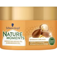 Schwarzkopf Nature moments haarmask Maroccan argan & macadamia