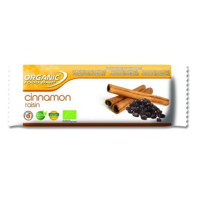 Organic Food Bar kaneel rozijn