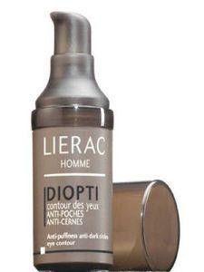 Lierac Homme diopti tegen wallen en kringen