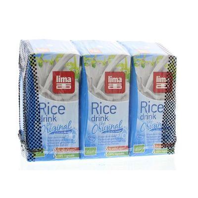 Lima Rice drink original pakjes 200 ml