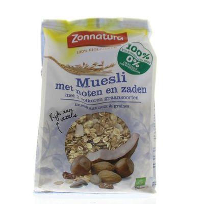 Zonnatura Muesli noten zaden bio