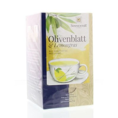 Sonnentor Olijfblad & lemongrass bio