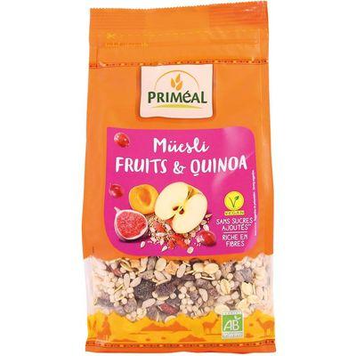 Primeal Quinoa muesli fruit