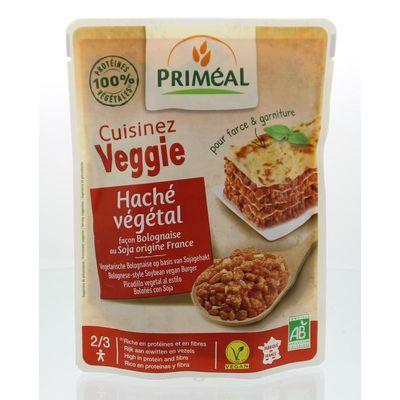 Primeal Cuisinez Veggie gehaktsaus bolognese