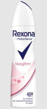Rexona Deodorant spray biorythm