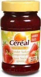 Cereal Fruitbeleg aardbei suikervrij