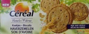 Cereal Koekjes haverzemelen