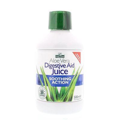 Optima Aloe pura aloe vera plus digestive aid drank