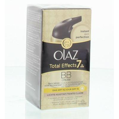 Olaz Total effects BB cream dagcreme lichte tint