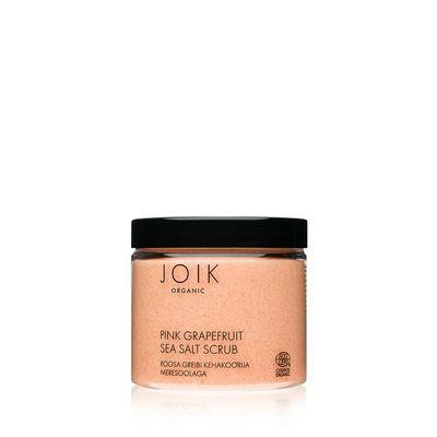 Joik Pink grapefruit sea salt scrub vegan