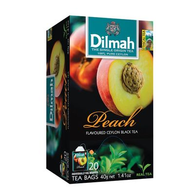 Dilmah Perzik vruchtenthee