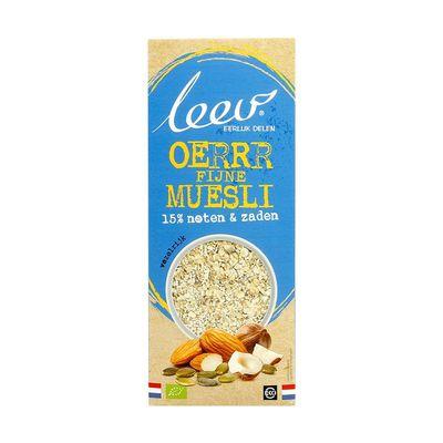 Leev Oerrr bio fijne muesli noten en zaden