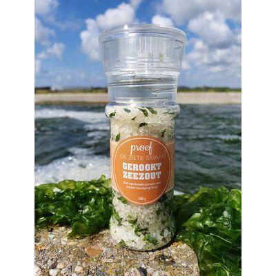 Wadzilt Gerookt zeewier zeezout bio